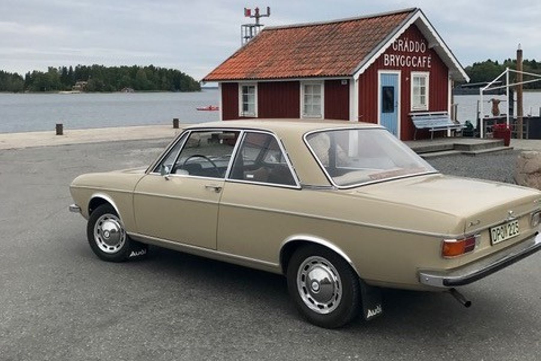 Audi 100 LS 2-dr — 1970 på Bilweb Auctions